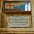 Memorial to Captain Robert Falcon Scott in Exeter Cathedral
