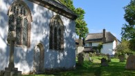 Ashton in Devon is the burial place of this 18th century poet and essayist